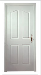 4 Panel Arch Texture Moulded Doors