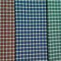 Indigo Dyed Checks Fabric