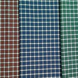 Indigo Dyed Checks Fabric, GSM: 50-100, for capries