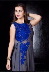 Gown Blue Color