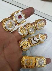 f9710d1885420 Men Gold Designer Ring and Ladies Gold Designer Ring Manufacturer ...