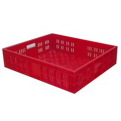 Red Plastic Crates