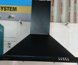 Black Stainless Steel Kitchen Chimney