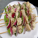 Chicken Onion Kebab