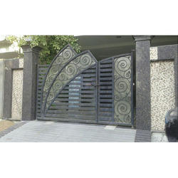 Awesome Compound Wall Gate Models Gallery Plan 3d House