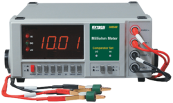 High Resolution Precision Milli Ohm Meter (220VAC)