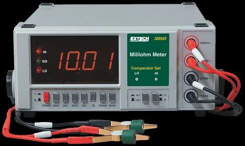 Ohmmeter Good Measurements And A High Low : Megger dlro digital low resistance ohmmeter