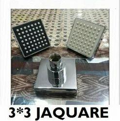 Jaguar Square Three Inchi Shower