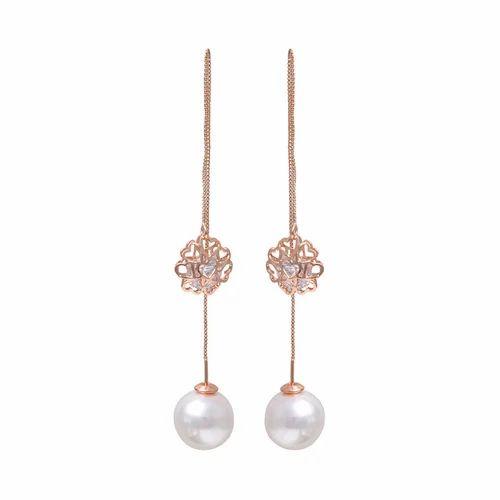 4e88afcd3 Beautiful Crystal Pearl Drop Earring - Dadu Diamonds, Ghaziabad   ID ...