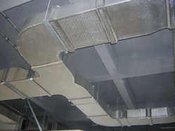 Aarkays Galvanised Steel Ventilation Ducts, For Industrial Use, Capacity: Upto 40000 Cfm