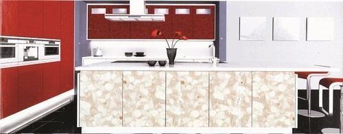 Printed Acrylic Laminated Sheets For Designer Kitchen