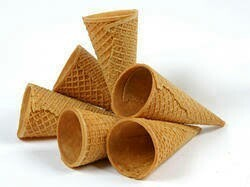 Rolled Sugar Cone / Waffle cone