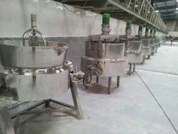 Steam Boiling Pan