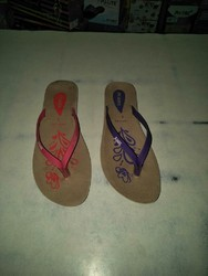 Daily wear Polymer Ladies PU Slippers