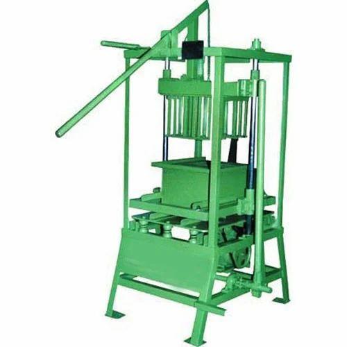 Manual Hand Operated Block Making Machine