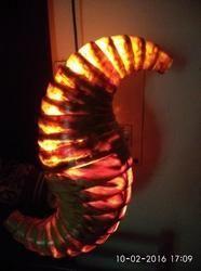 Sea Horse Wooden Wall Light