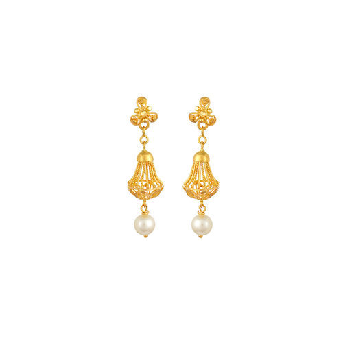 Tanishq Gold Jewellery Earrings Designs - Earrings