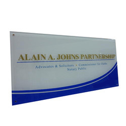 Acrylic Sign Board