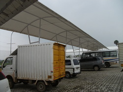 Roofing Membrane Tensile Structure