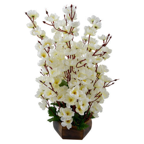 outdoor artificial flower pots at rs 260 /piece | fake flower