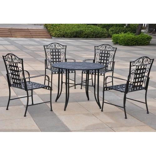 Wrought Iron Table Chair Set At Rs 9500 Piece Wrought Iron