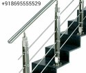 Round Stainless Steel Baluster Railing, For House & Construction, Material Grade: 304, 316