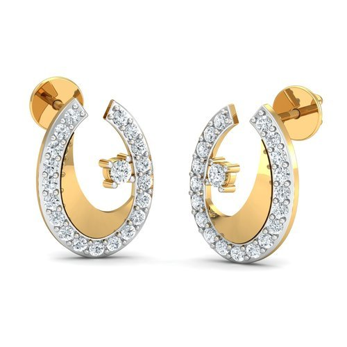 on metal woman plated wear made jewelry earring shopping gold daily indian can from online earrings