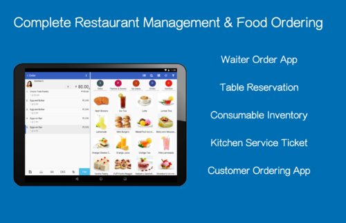End To End Restaurant Management POS ERP At Rs Pos Software - Restaurant table management app