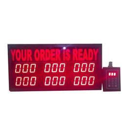 LED Order Display Board