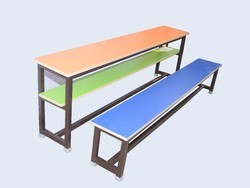 4 Seater School Bench