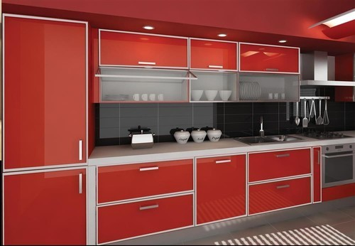 Modern Kitchen Cabinet Rs 150 Square Feet Door Gallery Id 19340823397