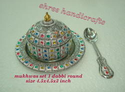 Mukhwas Set 1 Dabbi Round