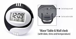 Wave Table Wall Clock