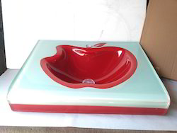 24x21 Inches Glass Basin