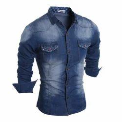 Men's Denim Casual Shirt