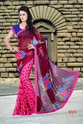 Chiffon Heavy Embroidered Lehenga Sarees