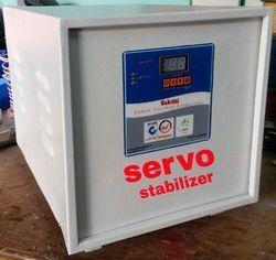 Three Phase SS Air Cooled Servo Stabilizer, 300 V - 460 V, 380 - 415 V Ac
