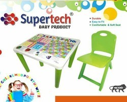 Plastic Baby Study Table And Chair