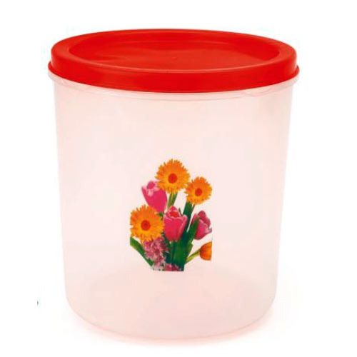 Transparent PP 10 Kg Plastic Container, Capacity: 500 Gm to 10 Kg
