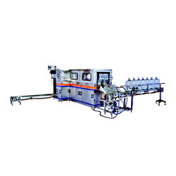 Semi Automatic Jar Washing Filling Capping Machine