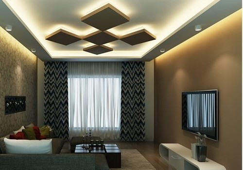 Modern False Ceiling at Rs 80 /square feet | False Ceiling ...