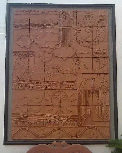 Terracotta Mural At Rs 800 Square Feet Wall Mural Art
