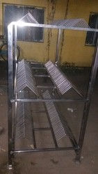 SS Plate Stand Rack