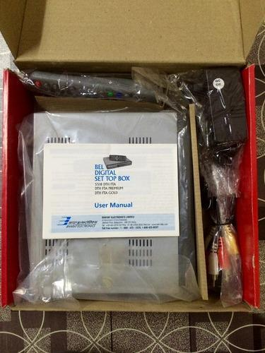 Free DD Set Top Box BEL - Bharat Electronics