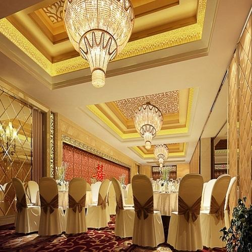 Hallway Interior Design Visualisations Hall Design: Banquet Hall Interior Design