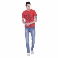Round Neck Men T-shirts