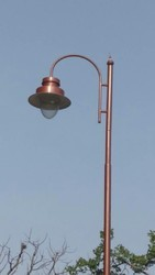 Galvanized Light Pole