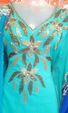 Cotton Embroidered Gown