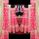 Fluorescent Anarkali Suit