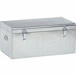 Silver Galvanized Steel Box